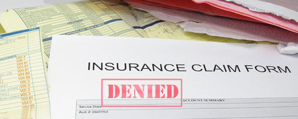 Dealing with claim denials