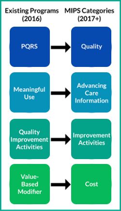 PQRS and MIPS Reimbursement Model