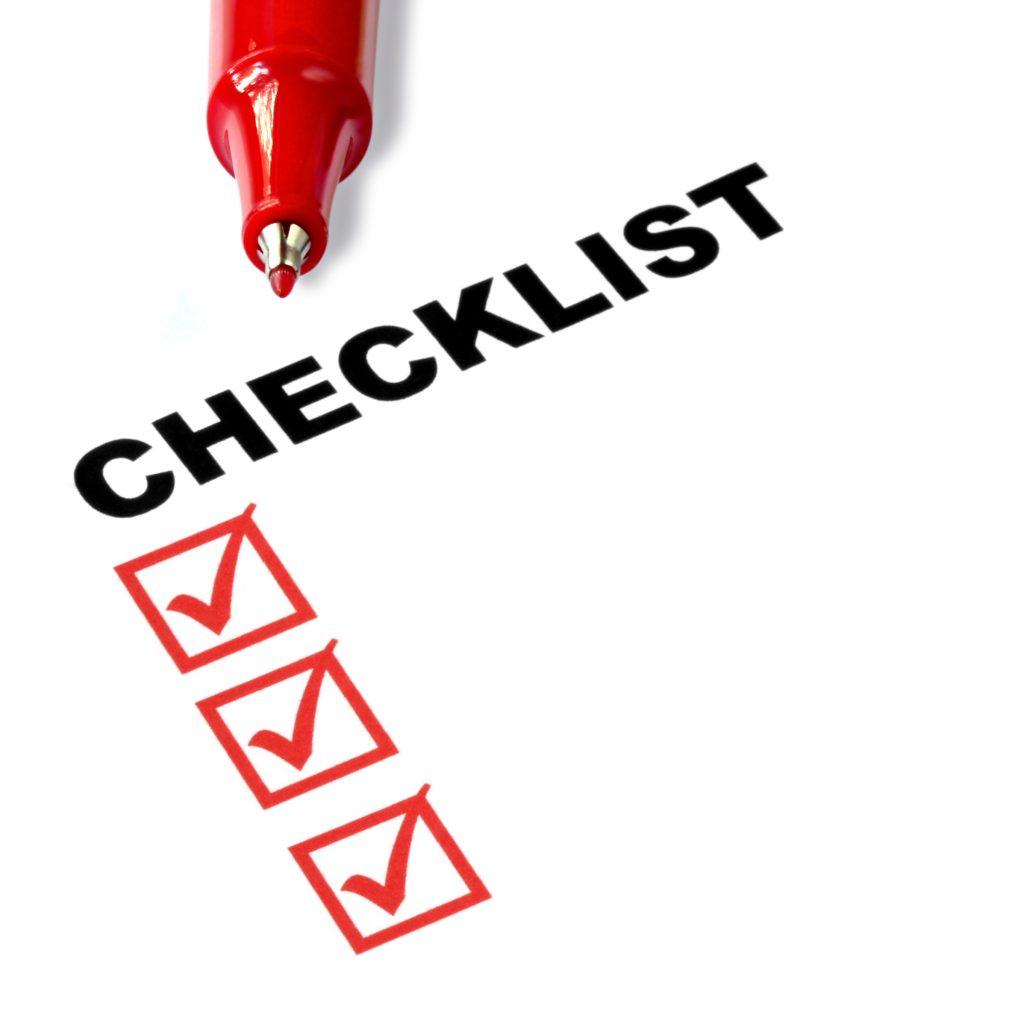 insurance eligibility check list