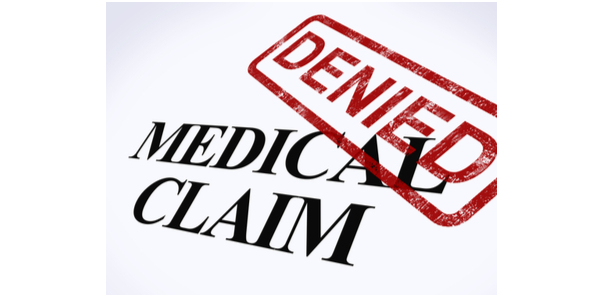 medical claim denials services