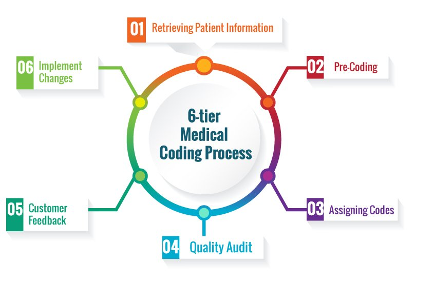 medical billing and coding process What is medical billing and coding medical billing and coding is a crucial element of the healthcare process in america today for every diagnosis given, treatment prescribed, or service performed by a healthcare professional, there is a corresponding code used for billing purposes.